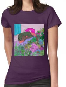 Sleepy Ivy Womens Fitted T-Shirt