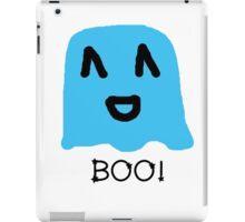 Boo!- Happy Ghost iPad Case/Skin