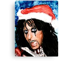CHRISTMAS FOR ALICE COOPER Canvas Print