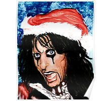 CHRISTMAS FOR ALICE COOPER Poster
