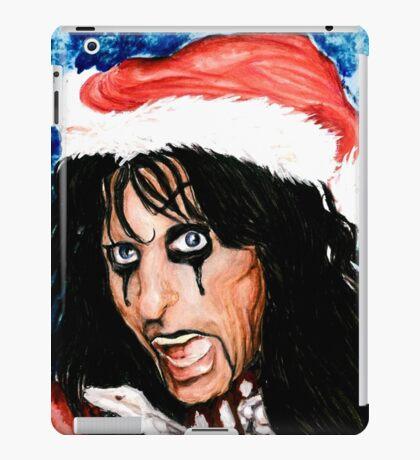 CHRISTMAS FOR ALICE COOPER iPad Case/Skin