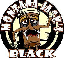 MONTANA JACK'S BLACK with Yellow Rings by MontanaJack