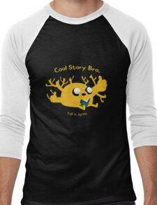 Cool story bro. - Jake - Adventure Time Men's Baseball ¾ T-Shirt
