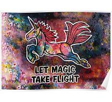 Let Magic Take Flight. Poster