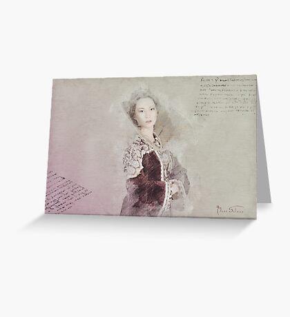 Elizabeth Greeting Card