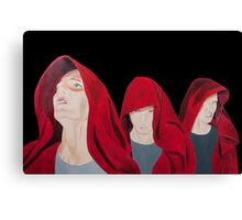 The Cloaked figures Series 1 -The Transfiguration Canvas Print