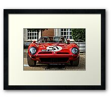 1964 ISO Bizzarrini A3C at the Concours of Elegance 2014 Framed Print