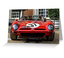 1964 ISO Bizzarrini A3C at the Concours of Elegance 2014 Greeting Card