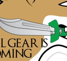 Metal gear is coming Sticker