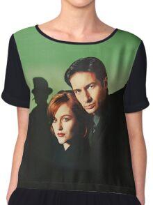 Mulder & Scully Chiffon Top
