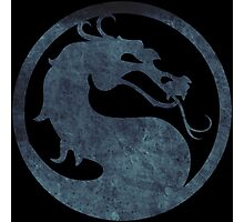 °GEEK° Mortal Kombat Logo Photographic Print