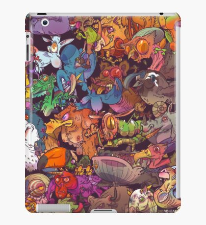 Freaky Furries iPad Case/Skin