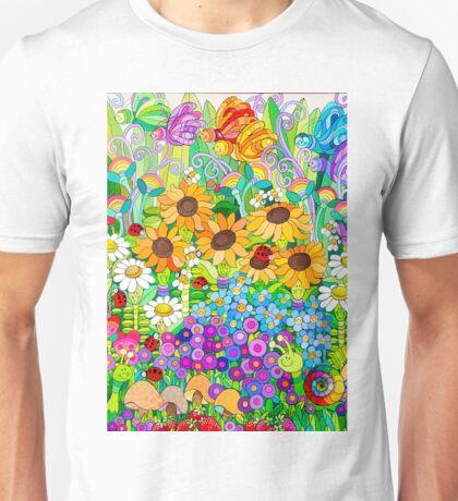 Ladybug Garden II Unisex T-Shirt