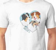 -Heart- Aussies (Tris and Blue merle) Unisex T-Shirt