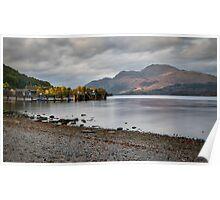 Loch Lomond in Luss Poster