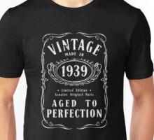 Made In 1939 Birthday Gift Idea Unisex T-Shirt