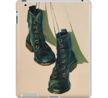 Black Boots iPad Case/Skin
