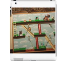 Video Game Theme Department Goal chart iPad Case/Skin