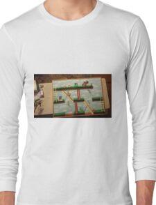 Video Game Theme Department Goal chart Long Sleeve T-Shirt