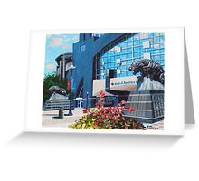 'PANTHERS STADIUM'  Greeting Card