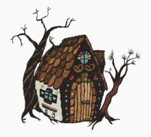 Gingerbread House Kids Tee