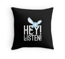 HEY Throw Pillow