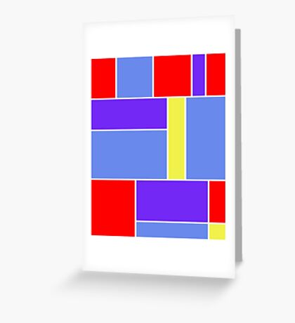 Abstract #481 Greeting Card
