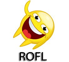 ROFL Photographic Print