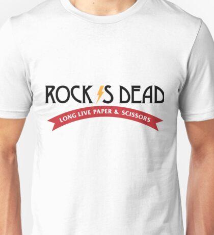 Rock is dead! Unisex T-Shirt