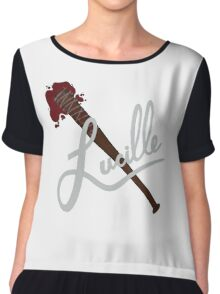 lucille - twd Chiffon Top