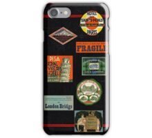 Vintage Travel Journal iPhone Case/Skin