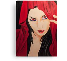 The Cloaked figures Series 6 - The Vixen Canvas Print