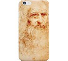 Da Vinci Self Portrait iPhone Case/Skin