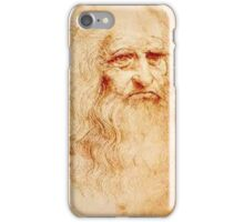 Da Vinci Self Portrait iPhone Case/Skin