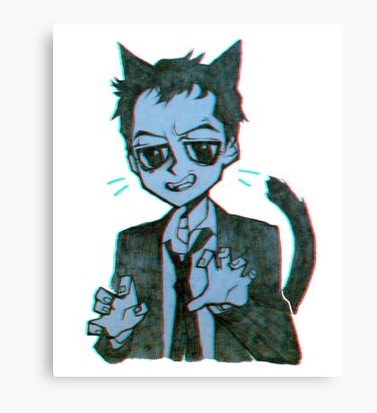 Meowiarty Canvas Print