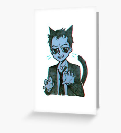 Meowiarty Greeting Card