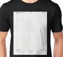 USGS TOPO Map California CA Bitter Spring 20120312 TM geo Unisex T-Shirt