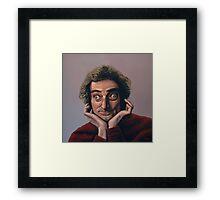 Marty Feldman Painting Framed Print