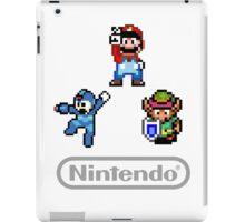 Nintendo Shirt - Mario, Zelda, Megaman iPad Case/Skin