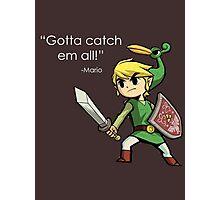 Childhood Destruction (Pokemon, Zelda, Mario) Photographic Print