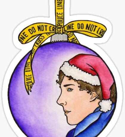 Merry Sherlocksmas Sticker