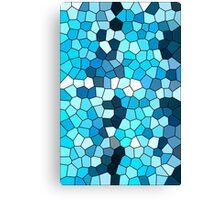 Birthstone DECEMBER Turquoise Canvas Print