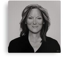 Meryl Streep Painting Canvas Print
