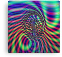 Psychedelic Tunnel Canvas Print
