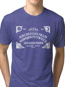 Ouija-White Tri-blend T-Shirt