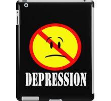 DEPRESSION T-shirt iPad Case/Skin