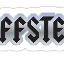 Jeffster tribute band from Chuck TV show Sticker