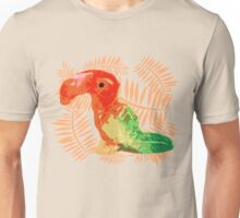 """Rock Candy Sandy"" - Toucan, Bird, Tropical, Hot, Pink, Orange, Red, Peach, Green, Yellow, Gold, Lime, Bright Unisex T-Shirt"