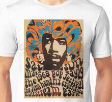 Cool Jimi Hendrix Concert Poster  Unisex T-Shirt