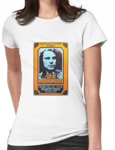 Van Morrison Concert Poster Womens Fitted T-Shirt